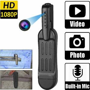 Mini Spy Hidden Pocket Pen Camera 1080P HD Portable Pen Video Recorder DVR Cam