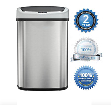 Automatic Trash Can Opener Motion Sensor Lid Touchless Auto Open Smart Kitchen