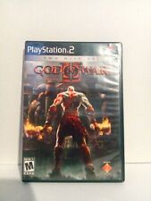 God of War II 2 Sony PlayStation 2 PS2 - 2007 Two Disc Set