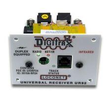 Digitrax dúplex UR92 Radio Transceptor/Panel de Loconet receptor IR con fuente de alimentación