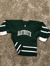 Vintage CCM Dartmouth College Mens Hockey Jersey Size Small Made In Canada
