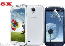 FOR SAMSUNG i9500 GALAXY S4 IV SCREEN PROTECTOR PROTECTIVE FILM SAVER 5X