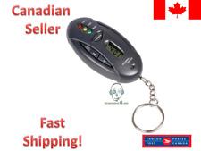 Alcohol Breath Analyzer Breathalyzer Tester Detector Test Clock Keychain