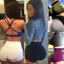 Sexy Women's Sports Shorts Athletic Gym Workout Fitness Yoga Leggings Briefs