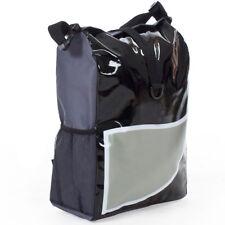 Fahrradtasche Packtasche Messenger Bag Umhängetasche Gepäckträgertasche grau