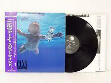 NIRVANA Nevermind LP Vinyl 1996 Geffen Japan Press MVJG-25001 w/ Obi Insert RARE
