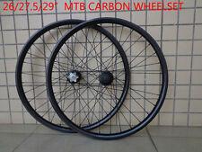 26/27.5/29er inch mountain bike 3K UD 12K full carbon bicycle disc wheelsets MTB