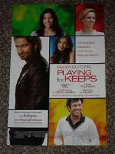 PLAYING FOR KEEPS - Movie Poster - Flyer - 11x17 - GERARD BUTLER
