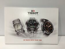 New - Catalogue Catálogo TISSOT - In Touch With Your Time - English