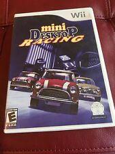 Mini Desktop Racing Nintendo Wii Game Fun Games
