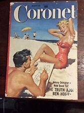 Coronet Magazine August 1954 Vol 36 No 4 John Wayne Back Cover Ad