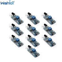 10X IR Infrared Obstacle Avoidance Sensor Module Adjustable Distance for Arduino