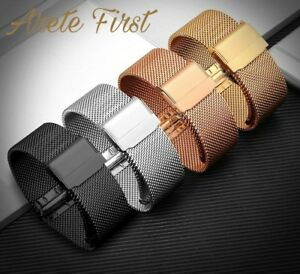 Steel Watch Band Strap for DW 36mm 40mm 316L Stainless Steel Double Clasp