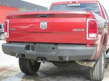New Smooth Rear Bumper Replacement 2010 - 2019 Dodge Ram 2500 3500 Steelcraft