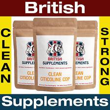 Citicoline CDP Choline 98% 355mg per Cap Focus Memory ADD British 3 Month Supply