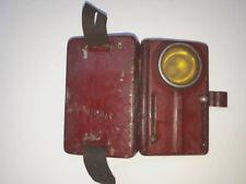 Vintage Military Flashlight Metallic Pocket Bulgarian Army Lamp 3 Color 60s