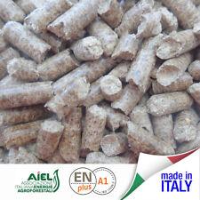 9 sacchi di pellet italiano di qualità legno di Faggio 135 kg
