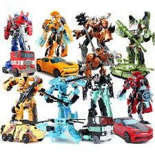 Optimus Prime Transformer Actionfigur Bumble Bee Kinder Roboter Spielzeug Neu
