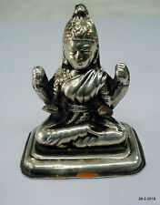 vintage antique collectible old silver statue idol hindu goddess