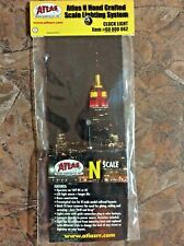NEW! N Scale Atlas #60 000 062 Clock Light N Hand Crafted LED Lighting System