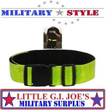 NEW Reflective PT Belt Physical Training Adjustable Safety Belt Rothco 60390
