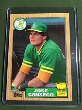 1987 Topps Jose Canseco #620 Baseball Card