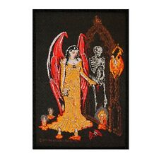 Gothic Rites Of The Undead Vampire Queen Ritual Alchemy Carta Woven Sew On Patch