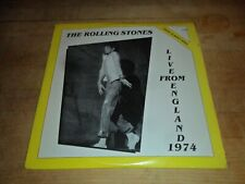 Vintage Lp  The Rolling Stones  Live England 1974 2LPs  Sealed