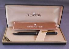 Sheaffer White Dot Targa Black with gold  trim Ball Pen -with box