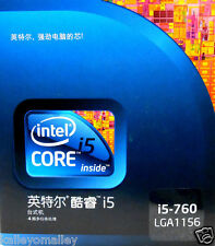 Intel BXC80605I5760 SLBRP Core i5-760 8M 2.80 GHz Retail Box (Chinese Version)