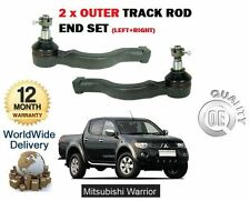 Para Mitsubishi L200 Warrior 2.5 2006> 2x Pista Exterior Barra Acoplamiento