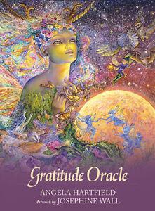 Gratitude Oracle Cards Angela Hartfield & Josephine Wall 9781925538984