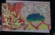 GRAFFITI MAP PARIS NAC143