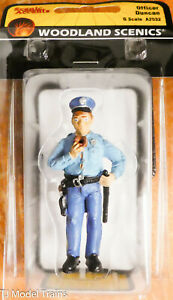 Woodland Scenics G-Scale #2532 Officer Duncan (Hand Painted)