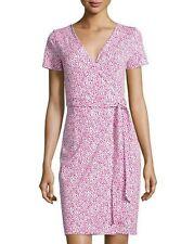 NWT Diane von Furstenberg New Julian Two Wrap Dress 8 $398