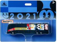 Disney World 2021 Logo Die-Cast Bus Mickey & Friends Collectible Toy - NEW