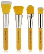 4pc. Yellow bambu Bdellium Tools - Set di Pennelli professionali per (qk7)