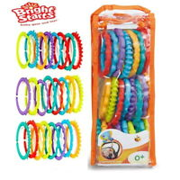 Bright starts lots of links ideal Baby Toy for linking toys almost anywhere