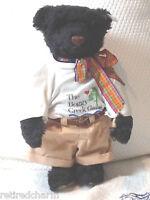 """❤️STEIFF ~ BOGGY CREEK BOB BEAR ~665110 14"""" 1996 LT ED TEDDY W/ BOX OPTION VTG❤️"""