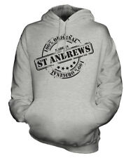 MADE IN ST ANDREWS UNISEX HOODIE MENS WOMENS LADIES GIFT CHRISTMAS BIRTHDAY 50TH