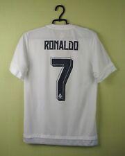 Real Madrid jersey shirt #7 Ronaldo 2015/2016 Home official adidas football s.S