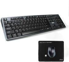 UHURU 2.4G Compact Wireless Keyboard and Mouse Combo