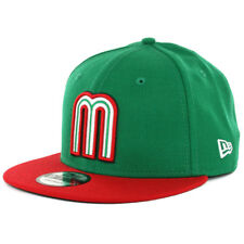 "New Era 9FIFTY World Baseball Classic ""WBC17 Mexico"" (KG-RD) Snapback Hat Cap"
