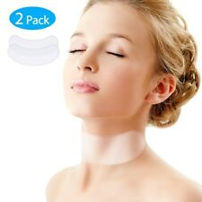 Silicone Care Neck Pads Reusable Anti Wrinkle Neck Tape Anti Aging Treatment