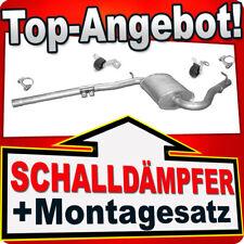 Montagesatz Endschalldämpfer Auspuff Audi A4 2.0  96kW Bj.12//2000-06//2008
