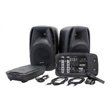 Gemini ES-210MX-BLU 600W PA Speaker System Mixer MP3 USB Bluetooth Player Mic
