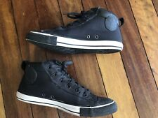 Converse All Star Black White Sole UNISEX 10/12