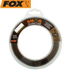 Karpfenschnur Fox Edges Camotex Semi Stiff 20m Vorfachschnur 1,20€//1m