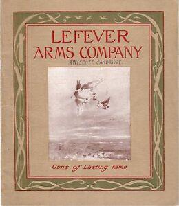 Lefever Arms Original 1912-13 Gun Catalog SALE PRICE