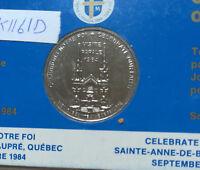 1984 Pope John Paul II Visit to Canada (QUEBEC) Commemorative Mint Set (M1161D)